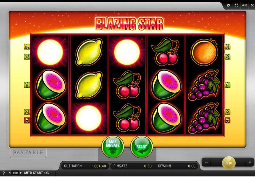 Online Casino Blazing Star